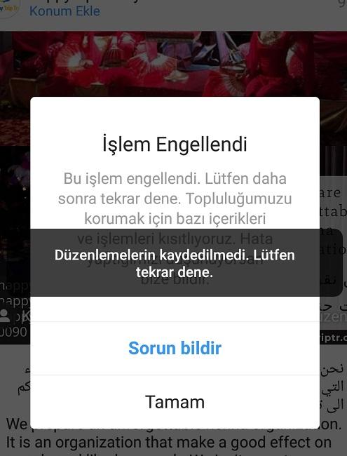 twitter takipci kasma para robotu en iyi twitter botu instagram botu ve seo araclari Instagram Islem Engellendi Hatasi Ve Cozumu